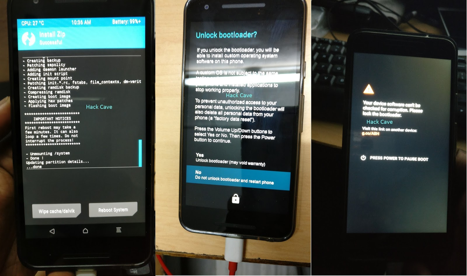 Kali Nethunter for Nexus 5x/bullhead Installation Guide