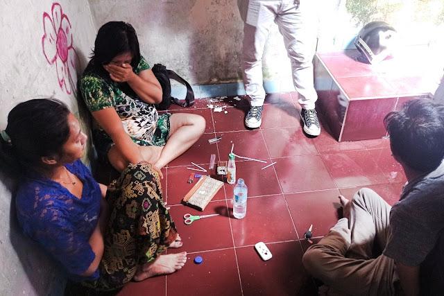 Janda beranak tiga asal Mataram ditangkap karena jualan sabu