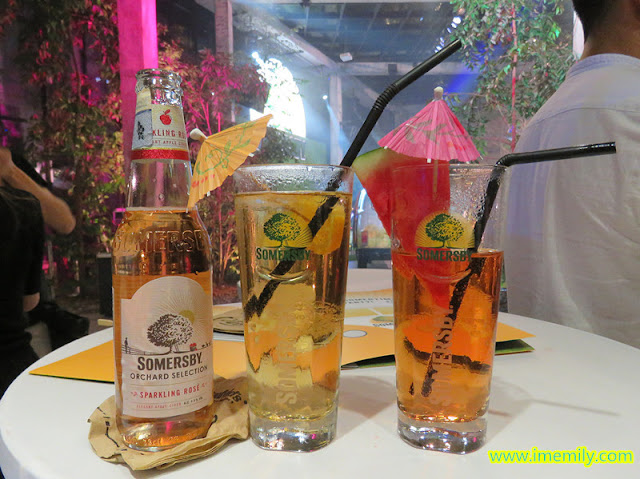Somersby Apple, Blackberry & Sparkling Rosé variants.