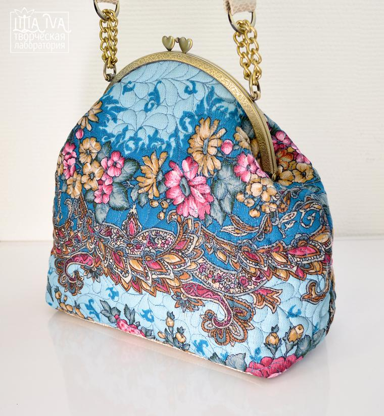 Bag in Russian Style. Free Pattern & Tutorial