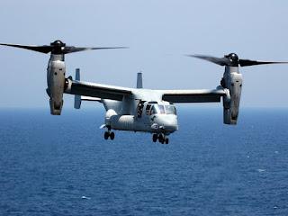 MV-22 Osprey Korps Marinir AS