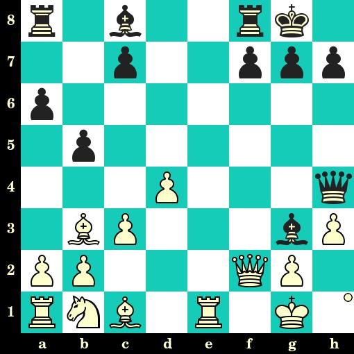Les Blancs jouent et matent en 2 coups - Sery vs Z Vecsey, Brunn, 1921