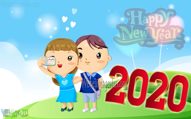 Happy New Year 2020 Love Desktop Background Wallpapers Download
