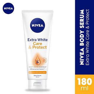 Nivea Extra White Body Serum Care & Protect 180ml