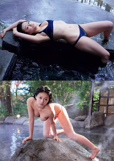 山地まり Mari Yamachi Weekly Playboy Feb 2016 Images 2