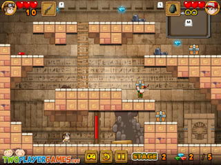 The Pyramid Adventure two player games
