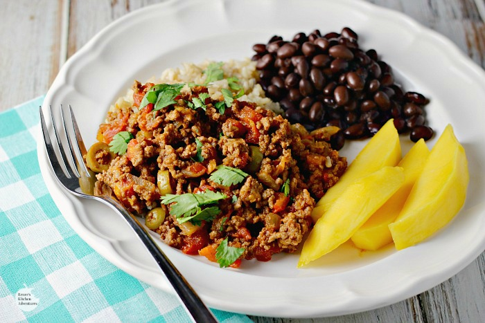 how to cook beef picadillo