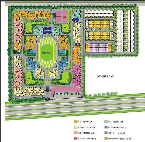 Panchsheel-Greens-2-site-plan