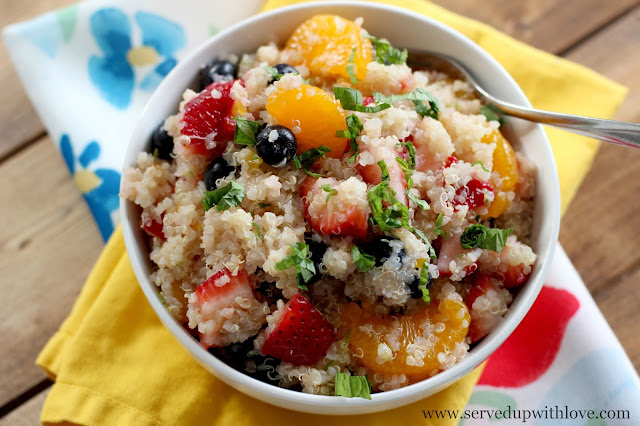 Quinoa is very similar to rice but it is just a little nuttier and a ...