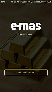 Download & Dapatkan Emas Gratis 0,1gram/60Ribu Lewat Aplikasi E-mas