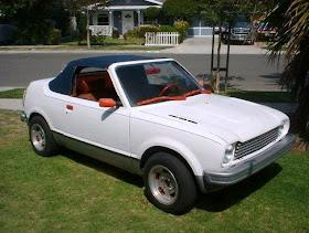 Just A Car Geek: 1974 Honda Civic Convertible