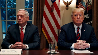 US President Donald Trump has forcefully removed it's defence secretary James Mattie earlier than expected after he tendered his resignation.
