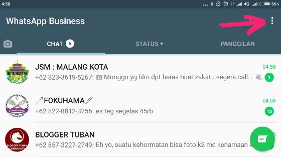 Cara Meningkatkan Keamanan Whatsapp dengan Verifikasi Dua Langkah