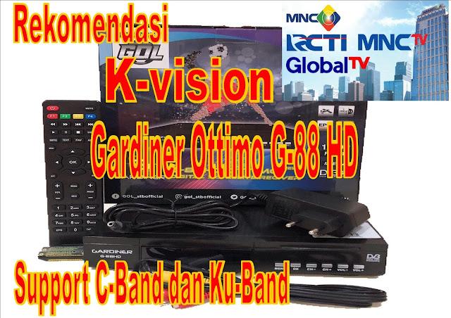 K-vision Gardiner Ottimo G-88 HD