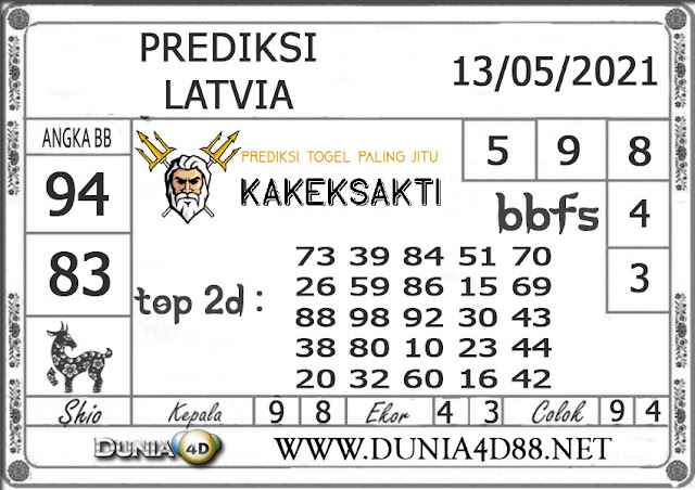 Prediksi Togel LATVIA DUNIA4D 13 MEI 2021