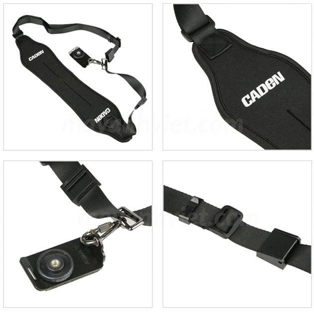 dây đeo máy ảnh thao tác nhanh quick strap caden