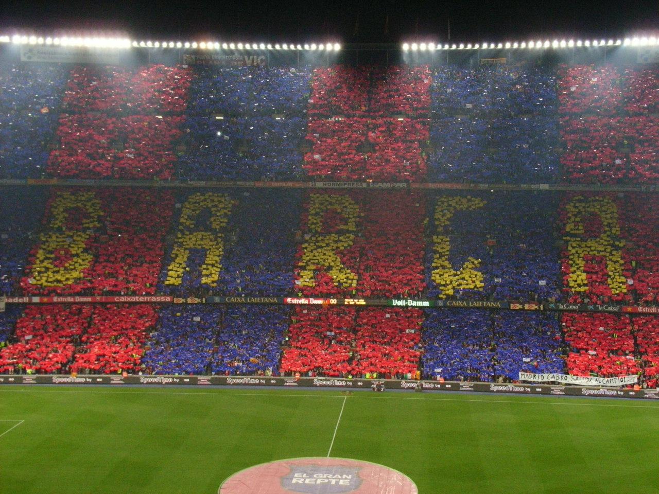 Fabbo Chicaiza Camp Nou