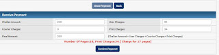 Certified copy payment process