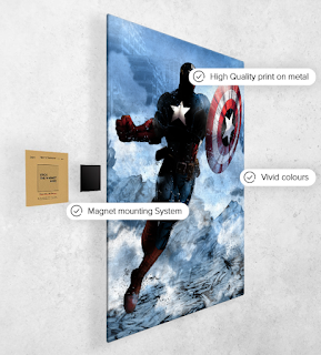 Captain America Displate
