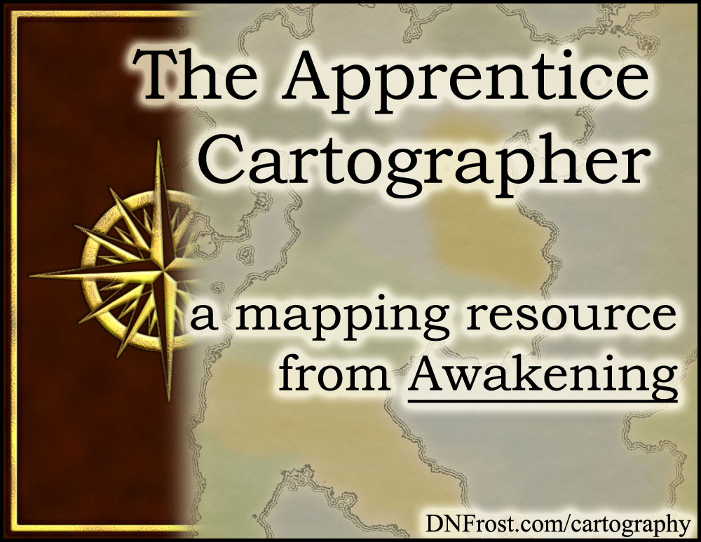 The Apprentice Cartographer: coming soon http://DNFrost.com/cartography #TotKW A resource directory for Awakening: Book 1 by D.N.Frost @DNFrost13 Part of a series.