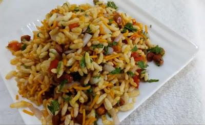 Dry Bhel Puri Recipe