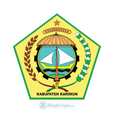 Kabupaten Karimun Logo Vector