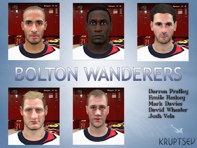 PES 2016 Bolton Wanderers facepack by Kruptsev