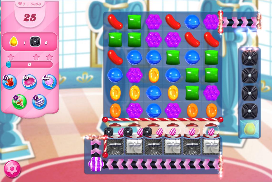 Candy Crush Saga level 5393