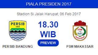Si Jalak Harupat Jadi Markas Persib di Piala Presiden 2017