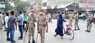 पुलिस ने चलाया वाहन चेकिंग अभियान  | #NayaSaberaNetwork