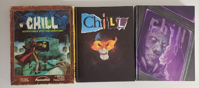 Chill RPG all three editions