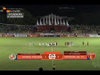 Mantul, Badak Lampung FC Menang Atas Semeng Padang dengan Skor 2 - 1