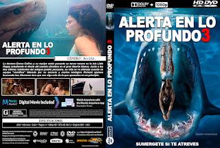 CARATULA ALERTA EN LO PROFUNDO 3 - DEEP BLUE SEA 3 - 2020
