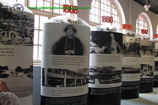 History Exhibits, KL City Gallery, KL, Malaysia