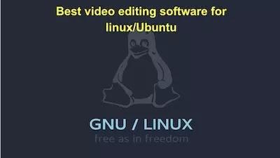 Los tres mejores software de edición de video para Linux Ubuntu