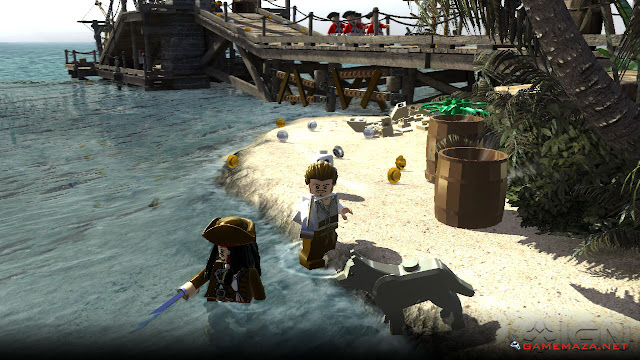 Lego Pirates of the Caribbean Gameplay Screenshot 1