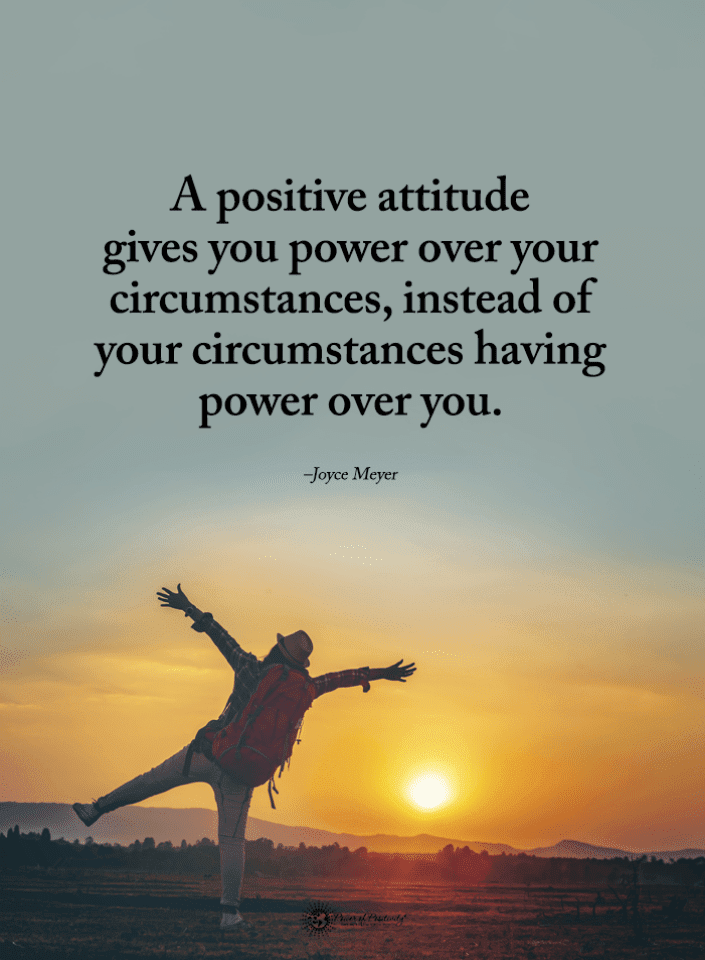 Positive Attitude Quotes, Joyce Meyer Quotes, Quotes,