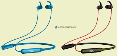 Boat Rockerz 335 Wireless Neckband Earphones Launched In India With 30-Hour Battery Life
