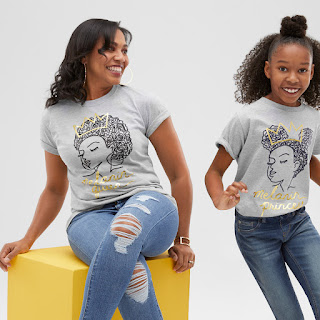 Women and Girls Melanin Queen T-Shirt