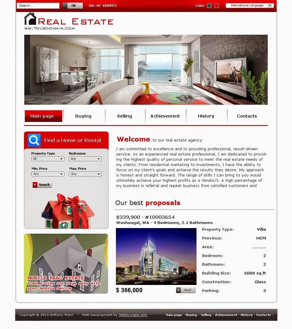 thiết kế website kiến trúc xây dựng chuyên nghiệp