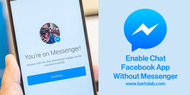 Enable and Use Chat in Facebook App Without Messenger in Android