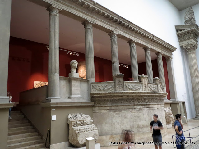 Templo de Trajano de Mileto - Museo Pergamo - Berlín - Pergamon museum