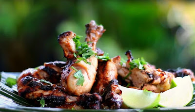 Charcoal Grilled Marinade and Shish Tawook Marinade with steps