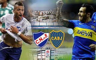 Boca Juniors vs Nacional en Copa Libertadores 2016