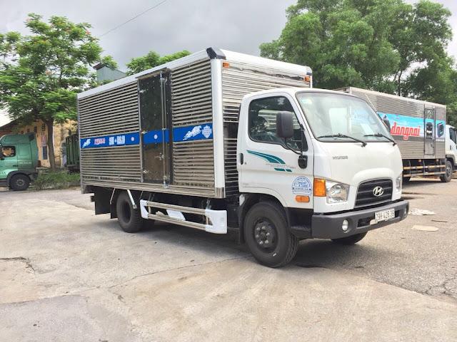 Đóng thùng kín xe tải 7 tấn