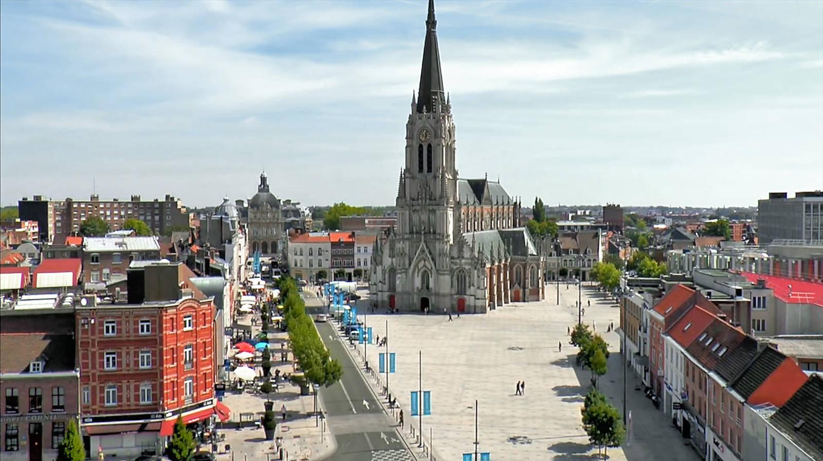 Place de la République, Tourcoing.