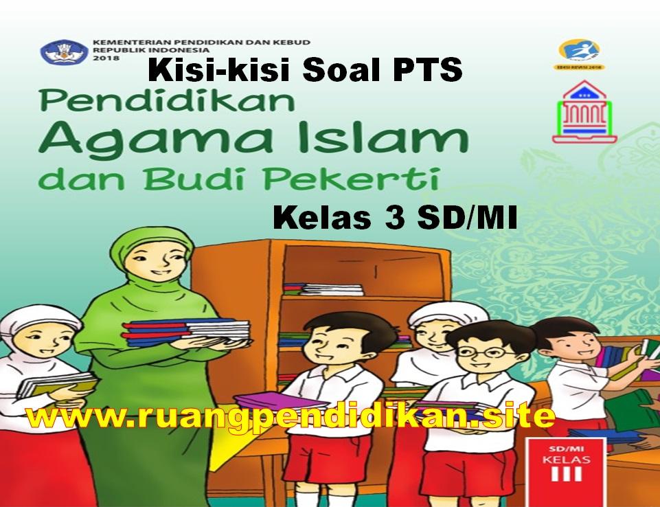 Kisi-kisi Soal PTS PAI Dan BP Semester 1 Kelas 3 SD