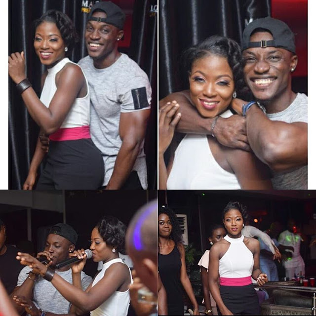 The chemistry between Debie-Rise and Bassey is apparent