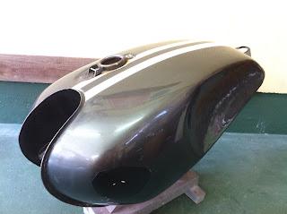 83816363 - カスタムペイント工程 ヤマハ SR