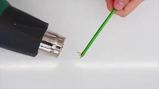 Tutorial Cara Membuat Pelindung Kabel dari Botol Bekas